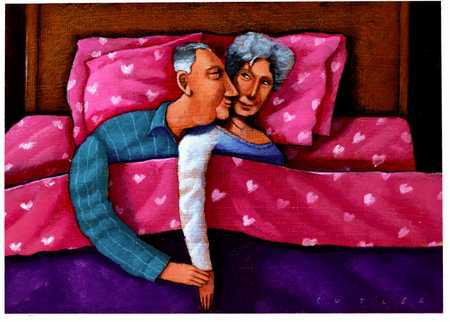 anziani romantici