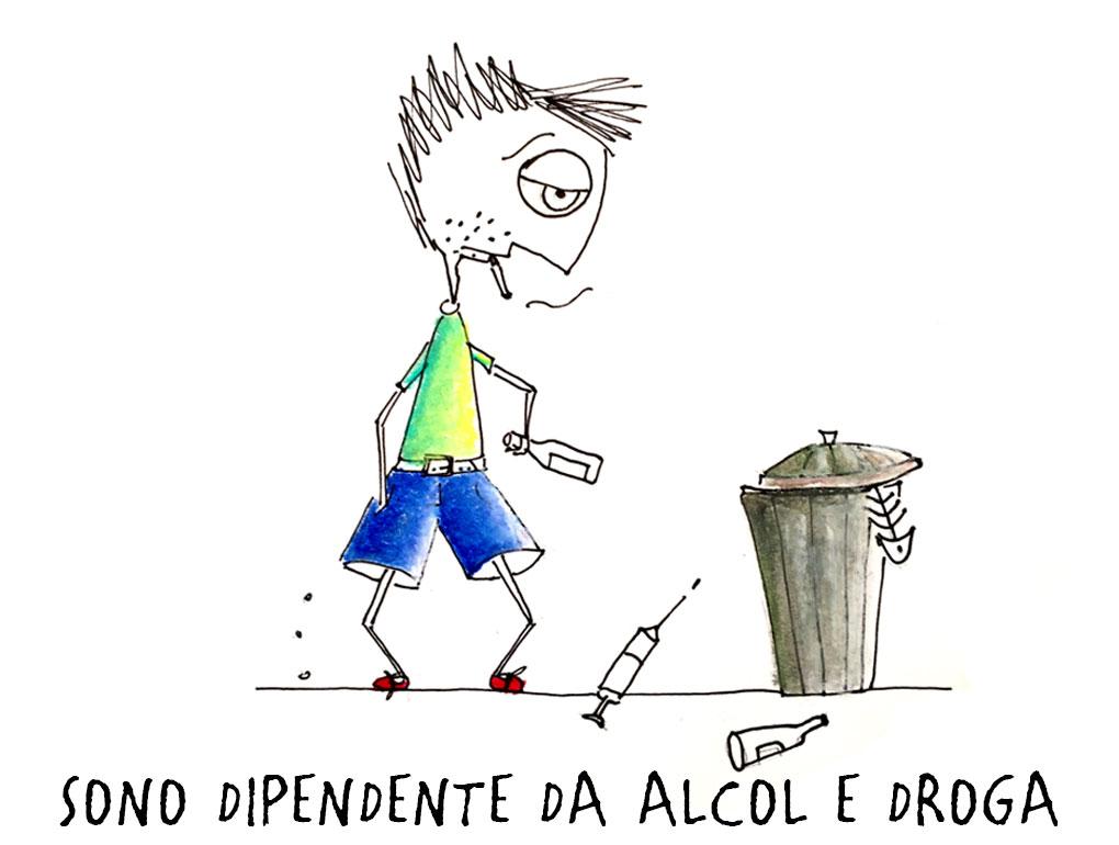 La prova su dipendenza alcolica